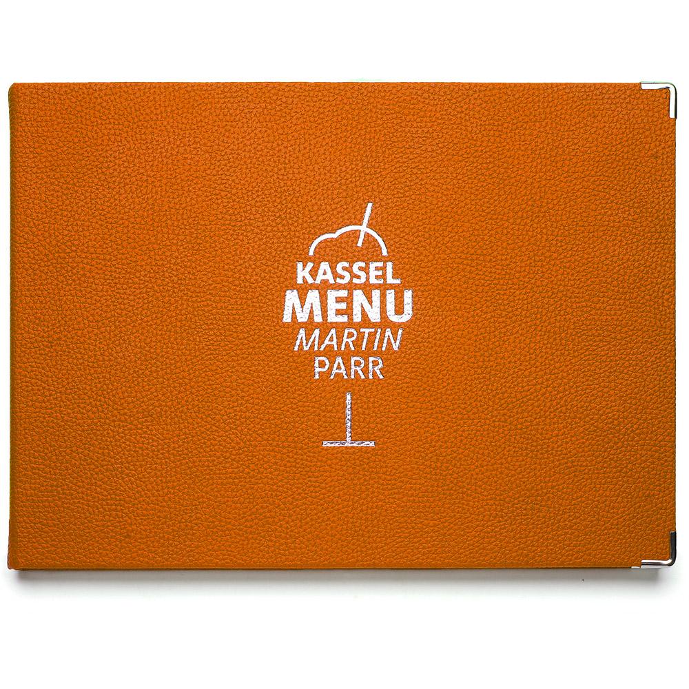 Kassel Menu | Martin Parr – Orange